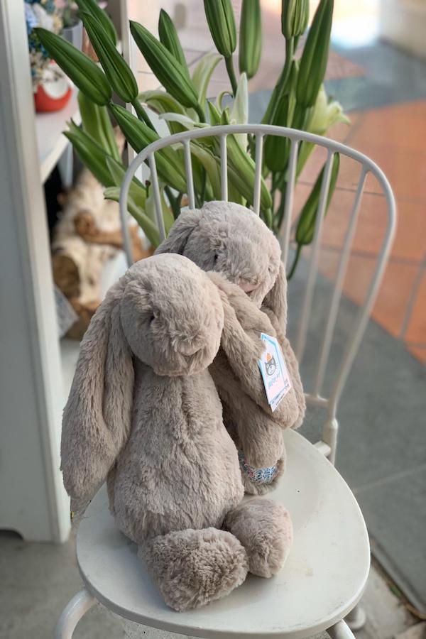 Bashful Beige Bunny Medium