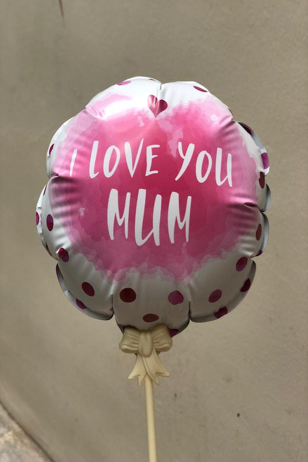 balloon - i love you mum
